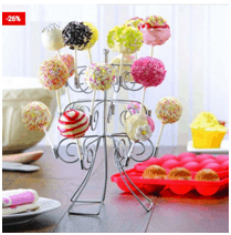 Cake Pop Stand 2 Tier Dessert Holder